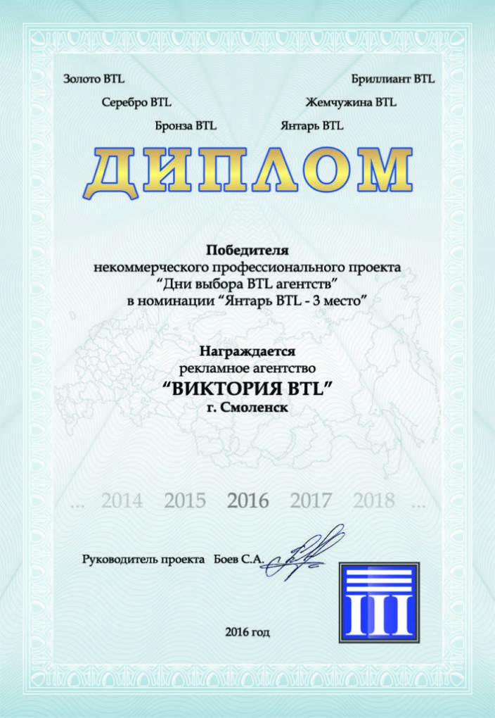 Диплом_ВИКТОРИЯ BTL_2016